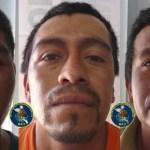 Marcos Sandoval Montalvo, Víctor Carmona Maldonado y Jorge Martínez Rodríguez.