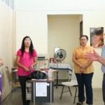 El presidente municipal de Comondú Dr. Joel Villegas Ibarra, presentó ante el personal del Instituto de la Mujer en este municipio, a la Lic. Evelia Molina Amador, quien a partir de la fecha atenderá y se desempeñará como titular de esta importante área del Ayuntamiento.