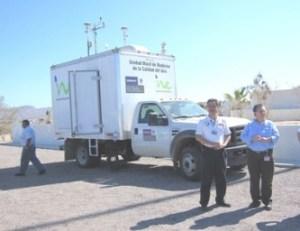 Monitorea INE  la calidad del aire en La Paz