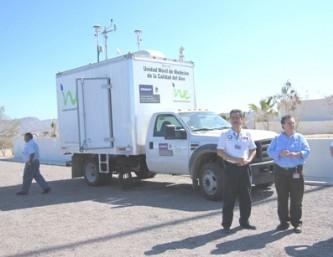 Monitorea el INE la calidad del aire en La Paz