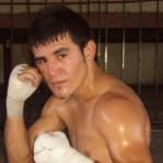 """Rafael """"Raffles"""" Gutiérrez, peleará en Santa Rosalía el próximo sábado 17 de julio por el campeonato Internacional del Mundo Hispano del Consejo Mundial del Boxeo (Enrique Montaño)."""