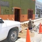 Más de 40 obras como ésta, se encuentran detenidas en el Municipio porque el Organismo Operador del Agua, dice no tener dinero, pero ofreció miles de regalos en menos de dos meses.