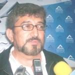 El presidente de Canaco Vicente Ruiz Peña, dijo que quienes conforman la Cámara están preocupados por las medidas que pretende tomar el IMSS de bajar de 25 a 10 salarios la pensión a jubilados (Lupita Gómez)
