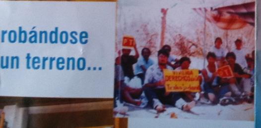 Distribuyen folletos con profético mensaje