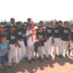 Marineros de la Escuela Técnica Flavio Torres Romero, campeones del VI Torneo Interclubes Pre-junior de Béisbol.