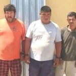 Marco Antonio Olachea Higuera, Noé Antonio Méndez Olachea, y Ramón Casillas.