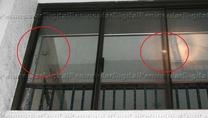 Balacera en el malecón, disparan contra el Hotel Los Arcos