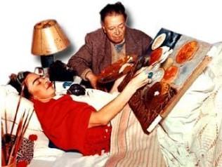 Frida Kahlo rompiendo con todo en Alemania