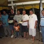 """Ganadores del """"XX Torneo Internacional de Pesca Deportiva Dorado 2010"""" (Enrique Montaño)."""