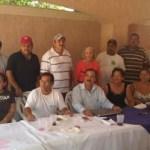 Alonso Germán se reunió con la planilla que encabeza Rodolfo Davis Osuna, que busca la candidatura para el Ayuntamiento de Loreto.