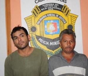 """Aarón Armando Pimentel Márquez, alias """"El Ruso"""", y Eduardo Enrique Gastelum Zazueta, alias """"El Lalo"""""""