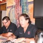 Edgar Castro acompañó a Normal Ceseña en la rueda de prensa informando que en poco más de tres años la AEABCS recibió del Corporativo El Pato Rojo 2.4 millones de pesos por concepto de comercialización de las carreras.