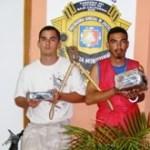 Luis Enrique Mendoza Araíza y Keny Brian Kruly Morales.