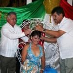 Coronan a Mayra y Melissa, reinas de las fiestas de fundación