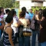 Acusan padres de familia que en los últimos meses se han registrado seis fugas de gas butano, sin que nadie dé solución al problemas.(Cuitláhuac Múñoz).