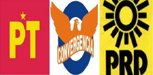 Buscarán líderes nacionales del PRD, PT y Convergencia candidato de unidad