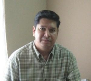 Licenciado Jorge Reynoso Girón, coordinador de la zona norte del estado, de la Cruz Roja Mexicana.