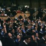 """El pasado viernes primero de octubre se llevó a cabo la ceremonia de graduación de la generación 2005-2010 """"Ing. Narciso Agúndez Montaño"""" del Instituto Tecnológico de La Paz (ITLP) además de la conmemoración del 37 aniversario de esta institución en el teatro de la ciudad."""