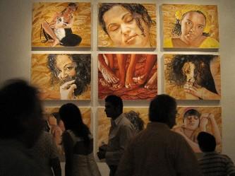 """Presenta Charly Díaz Castro exposición de pintura """"Marina Terrenal"""","""