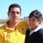 Alicia Guluarte López debutará este día como seleccionada nacional de canotaje, durante la inauguración oficial del Campeonato Panamericano juvenil y senior.