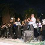 Todo un éxito resultó la gran presentación de la Banda de Música del Gobierno del Estado y los ballets folklóricos Tamy y Airapy.