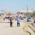 Las obras que están realizando en la avenida Leona Vicario de Cabo San Lucas, están dejando en la banca rota a los comerciantes.