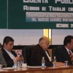 El diputado priísta Luis Videgaray, presidente de la Comisión de Presupuesto de la H. Cámara de Diputados, destacó la objetividad y viabilidad de la propuesta del gobernador Narciso Agúndez para obtener recursos extraordinarios por tres mil millones de pesos en el presupuesto federal 2011.