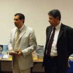 El rector de la UABCS, Lic. Rodrigo Guerrero Rivas.