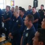 """La Secretaría de Seguridad Pública del Estado, a través de la Academia Estatal de Seguridad Pública (AESP), clausuró el curso especializado denominado """"Estrategias de Intervención en Centros Penitenciarios"""", en el municipio de Los Cabos, BCS."""