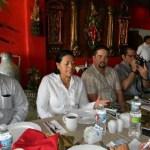 Los empresarios integrantes de colegios y asociaciones hacen diversos planteamientos a la alcaldesa Mirna Xibillé.