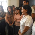 Este sábado al filo del mediodía se registró Inés María del Carmen Sánchez González como candidata del Partido Nueva Alianza a la diputación por el distrito 1, llevando como suplente a Hermenegilda Rodríguez Alvarez.