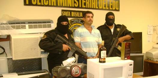 Le ejecutan dos órdenes de aprehensión al Pifas por robar televisores