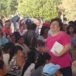 Esthela Ponce explicó a los colonos que las administraciones municipales fallan en su obligación principal desde hace ya muchos años, porque les ha faltado capacidad, organización, compromiso con los ciudadanos y, sobre todo, honestidad en el ejercicio de gobierno.