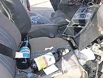 Registrados más de 200 accidentes automovilísticos con alcohol involucrado en 2010