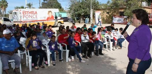 Convertir el Municipio en ejemplo de eficiencia financiera promesa de Esthela Ponce