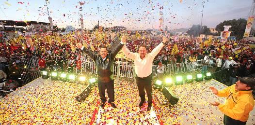 Cierran LAD y Tony Agúndez campaña en Los Cabos