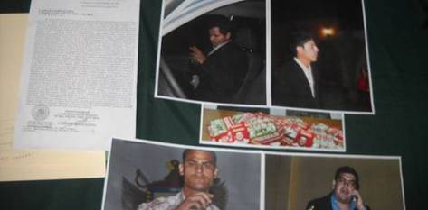 Los hechos ocurrieron la mañana de ayer en la que se localizó a individuos que distribuían propaganda con el logotipo de campaña de Ricardo Barroso y fotos de personajes de conocida filiación priista asociados a supuestos hechos delictivos.