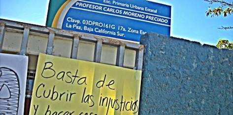La Secretaría de Educación Pública tomó esa misma mañana cartas en asunto, sin solicitar la apertura del inmueble por parte de las autoridades el secretario Omar Castro optó por el diálogo con la parte afectada a quien le propuso la movilidad del maestro en disputa al área administrativa.