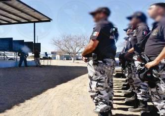 Continúa la capacitación de elementos de la Policía Estatal Preventiva