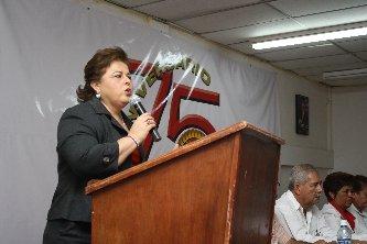 Agradece Esthela Ponce el apoyo del sector obrero