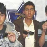 Eduardo Medina Velázquez, Omar Alejandro Ramos Fernández y Fernando Valle Espinoza.