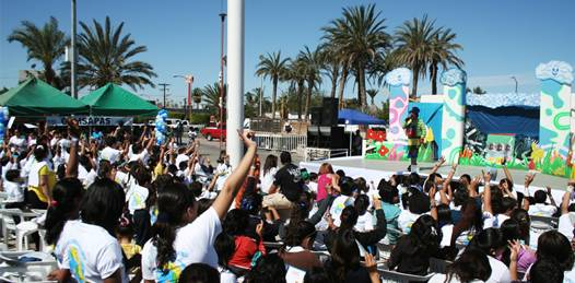 Ante público infantil y juvenil, inauguran la Feria Estatal del Agua