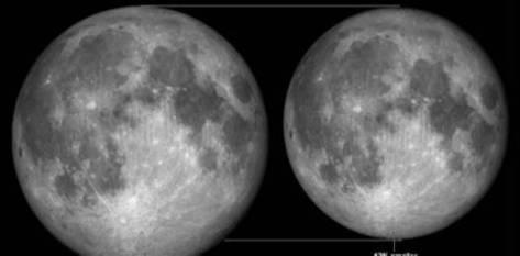 """Contrariamente a algunos informes que circulan por Internet, las Lunas del perigeo no desencadenan desastres naturales. La """"súper luna llena"""" de marzo de 1983, por ejemplo, transcurrió sin incidentes. Y una casi súper Luna llena en diciembre de 2008 también resultó ser inofensiva."""