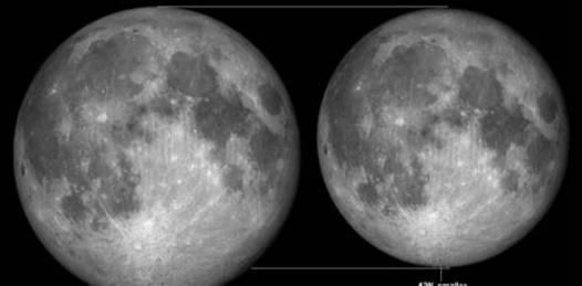 Hoy,el cielo se engalanará con una super luna llena