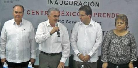 Este es el primer acto oficial en el que Ponce y Covarrubias comparten el presidio y el uso de la palabra en el orden del día.
