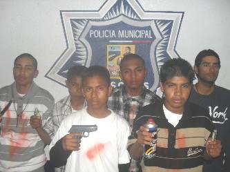 """Detienen a 6 integrantes de """"Los Sombra Siete"""", azote de la Lomas del Sol"""