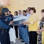 Cota Montaño hizo especial énfasis en la responsabilidad que tiene la autoridad municipal de gestionar recursos como los de la SUBSEMUN, para brindar mejores condiciones laborales a los elementos de la policía municipal.