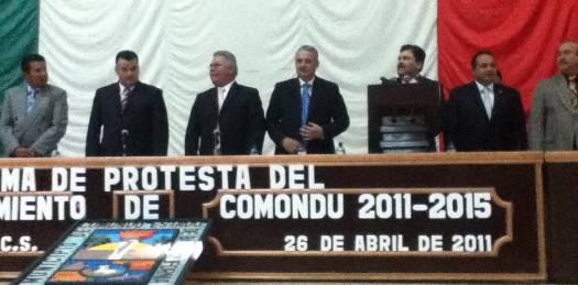 """Deja Joel Villegas """"una administración pública sumida en el más profundo descrédito social"""" acusa el nuevo alcalde comundeño"""