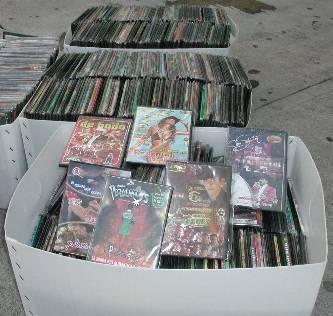 Asegura la PGR más de 5 mil discos piratas