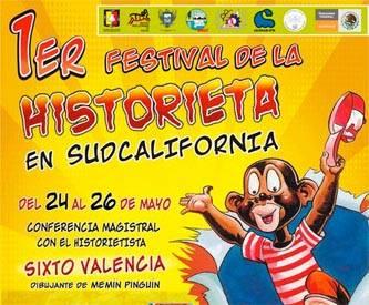 Arranca el  Primer Festival de la Historieta en Sudcalifornia
